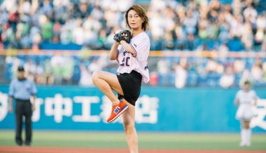 【画像】8/8ヤクルト始球式・氷川きよしが短パン生足!女性にしか見えないと話題に!