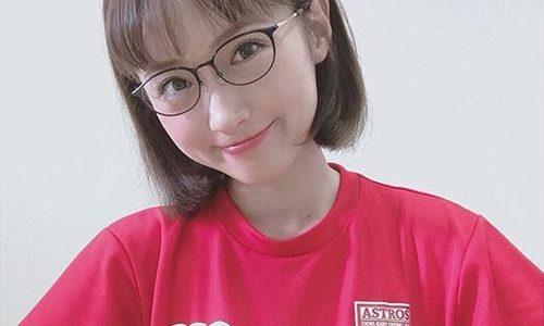 【ノーサイドゲーム】笹本玲奈のメガネが可愛い!ブランドはPARIS MIKI!