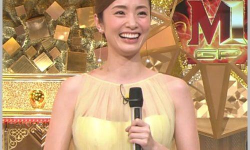 【M-1・2019】上戸彩の黄色いドレスワンピースが可愛い!ブランドは?