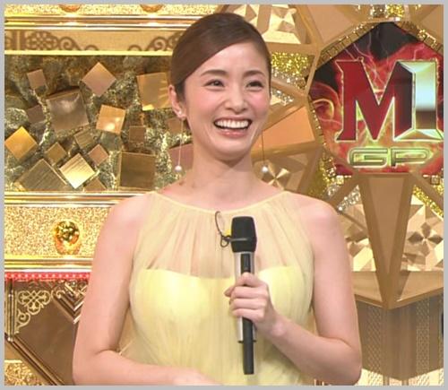 M,1・2019】上戸彩の黄色いドレスワンピースが可愛い!ブランド