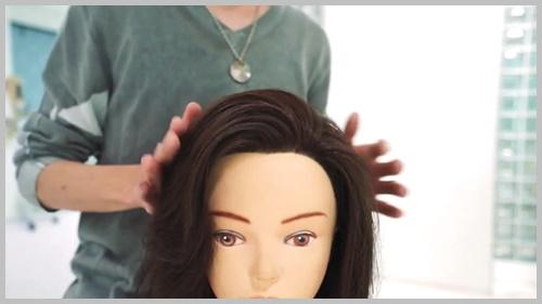 かきあげ前髪