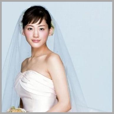 綾瀬はるか_ウェディングドレス1